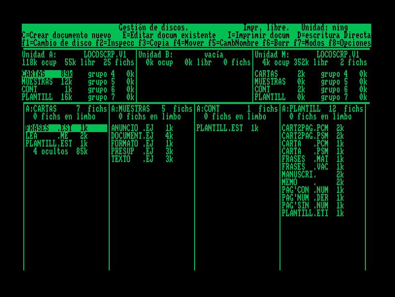 Amstrad PCW emulators   soledad penadés